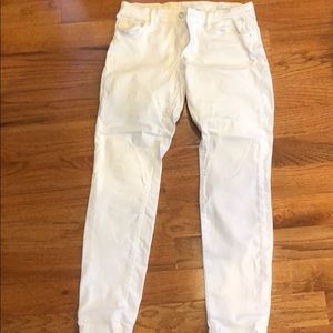 Guess White Jeans